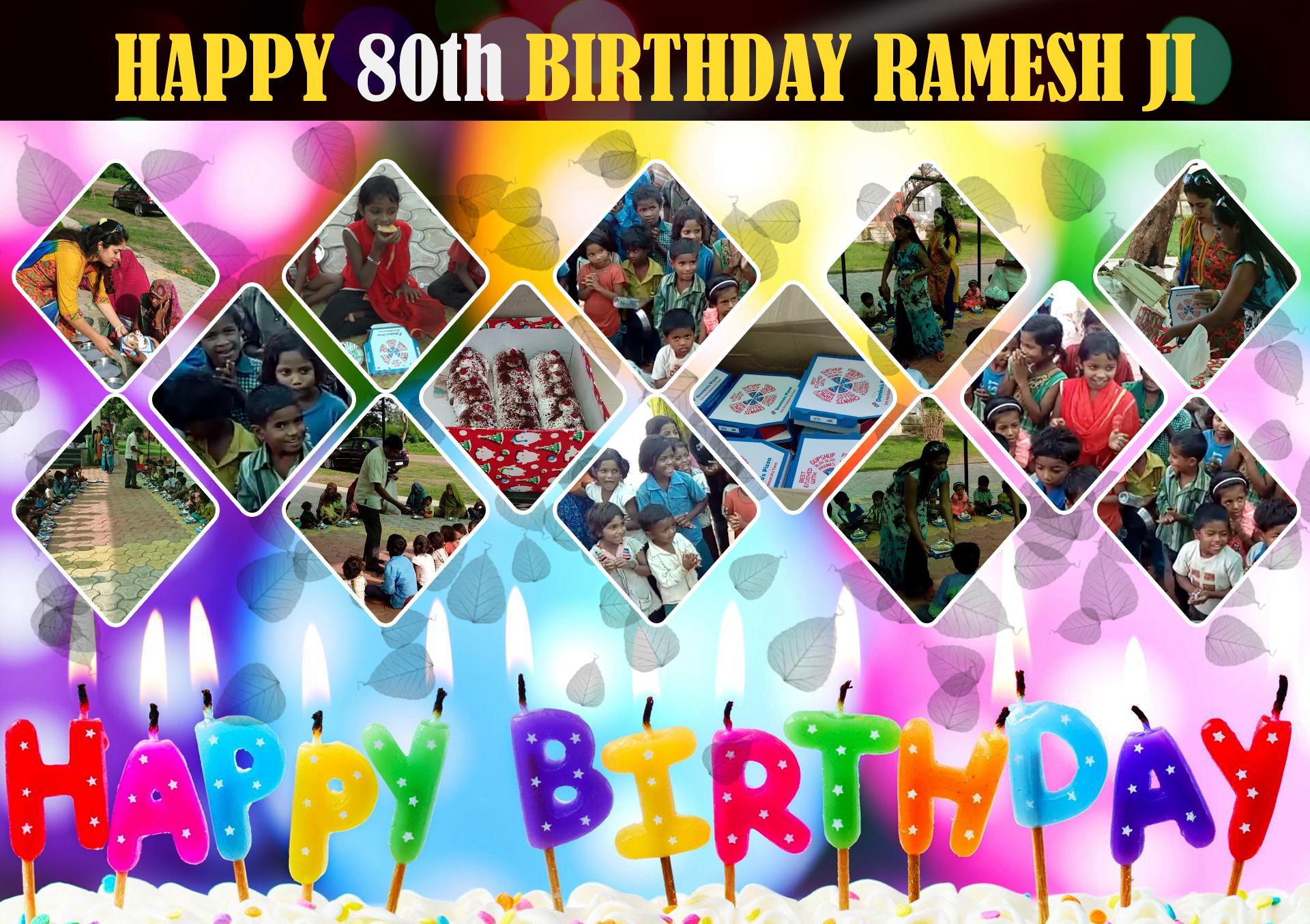 RameshJi-birthday-cake